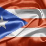 Bandera de Puerto Rico — Stock Photo