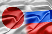 Japan and Russia — Stock Photo