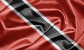 Bandeira de trinidad e tobago — Fotografia Stock