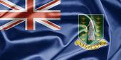 Flag of British Virgin Islands — Stock Photo