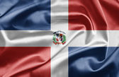 Flag of Dominican Republic — Stock Photo