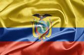 Bandeira do equador — Fotografia Stock