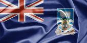 Bandeira das ilhas falkland — Fotografia Stock