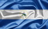 Bandera de nicaragua — Foto de Stock
