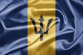 Bandeira de barbados — Fotografia Stock