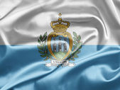 Flag of San Marino — Stock Photo