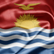 Flag of Kiribati - Stock Photo
