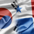 South Korea and Panama — Stock fotografie