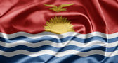 Flag of Kiribati — Stock Photo