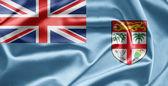 Bandeira das ilhas fiji — Fotografia Stock
