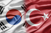 South Korea and Turkey — Stock Photo