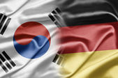 South Korea and Germany — Stock Photo