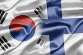 South Korea and Finland — Stock Photo