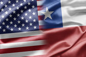 USA and Chile — Stock Photo