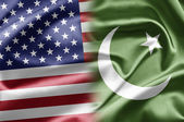 USA and Pakistan — 图库照片