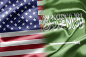 USA and Saudi Arabia — Stock Photo