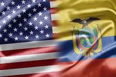 USA and Ecuador — Stock Photo