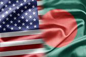 USA and Bangladesh — Stock Photo