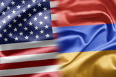 USA and Armenia — Stock Photo