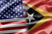 USA and East Timor — Stock Photo