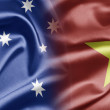 Australia and Vietnam — Foto Stock
