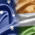 Постер, плакат: Australia and India