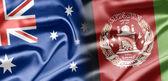 Australia and Afghanistan — Стоковое фото