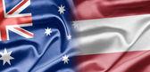 Australië en oostenrijk — Stockfoto