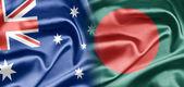 Australia and Bangladesh — Стоковое фото