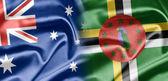 Australia e dominicana — Foto Stock