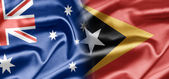 Australia and East Timor — Stock Photo