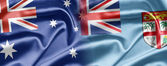 Australia and Fiji — Stock Photo