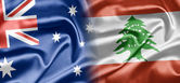 Australia and Lebanon — Stock Photo