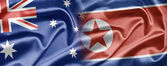 Australia and North Korea — Stock Photo