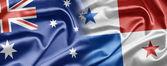 Australia e panama — Foto Stock