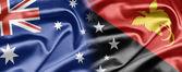 Australia y papua nueva guinea — Foto de Stock