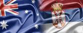 Australia and Serbia — Stock Photo