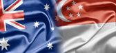 Australia and Singapore — Stock Photo