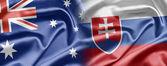 Australia and Slovakia — Стоковое фото