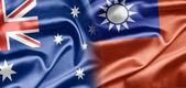 Australia and Taiwan (Republic of China) — Stock Photo