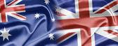 Australia and UK — Стоковое фото