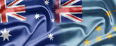 Australia y tuvalu — Foto de Stock