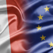 France and EU - Foto de Stock