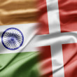 India and Denmark — Stock Photo