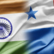 India and Panama — Stock Photo