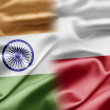India and Poland - Foto de Stock