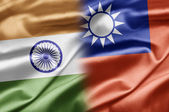 India and Taiwan — Stock Photo