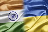 India y ucrania — Foto de Stock