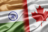 India and Canada — Stock Photo