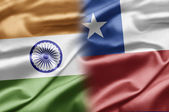 India and Chile — Stock Photo